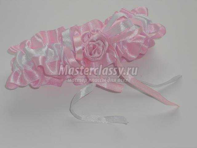 Подвязка для невесты своими руками фото фото 733