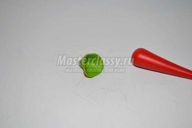 серьги из полимерной глины. Перчики