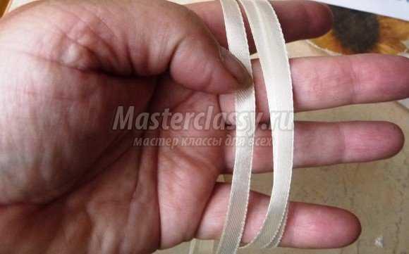 Подвязка для невесты. Мастер-класс