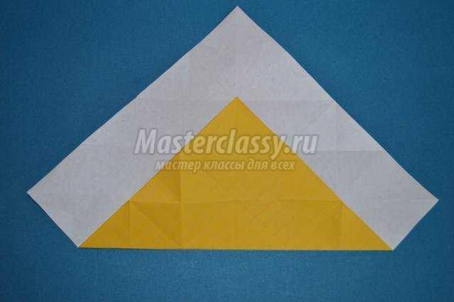 Объемный ромб оригами