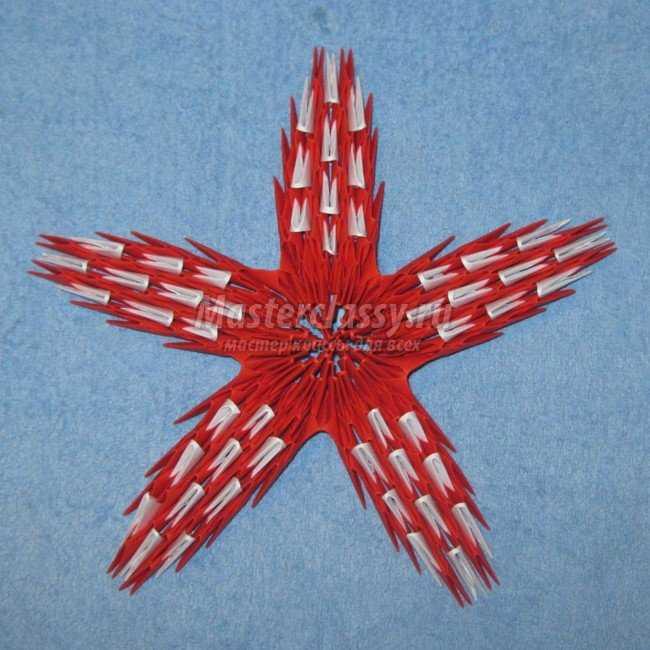 Звезда из бумаги своими руками из модулей