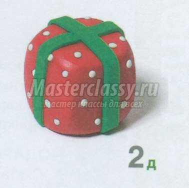 Сделать подарок из пластилина 565