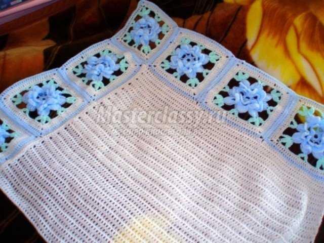Вязание детских одеял