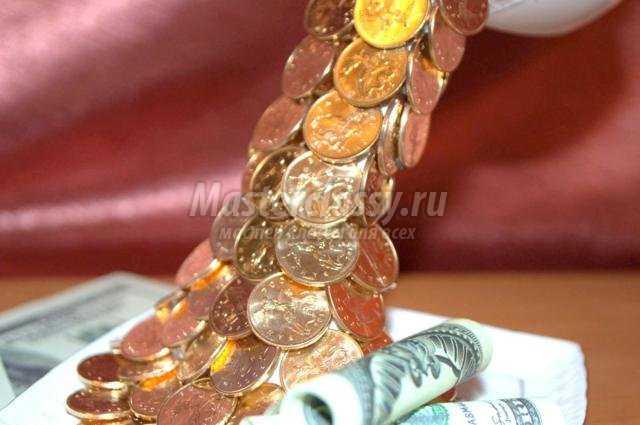 Подарки сделанные своими руками из денег