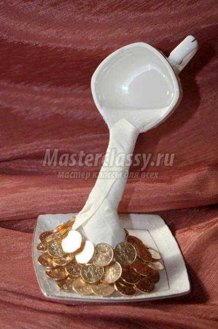 Парящая чашка с монетами своими руками мастер класс 742