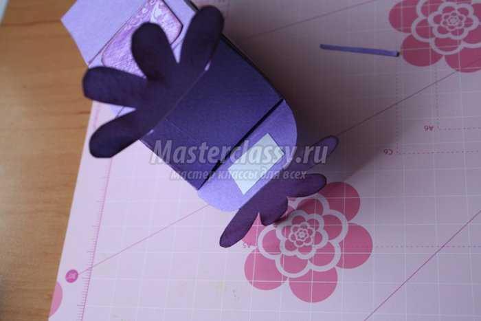 Коробочка для подарка своими руками
