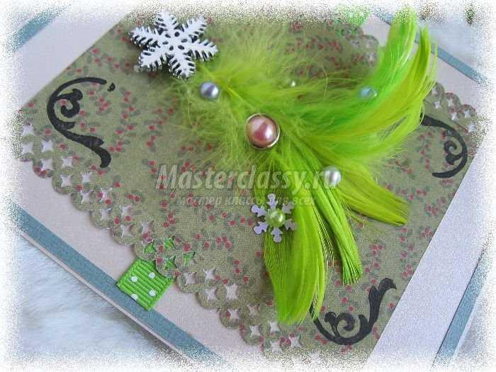 Рождественские открытки своими руками с ангелами