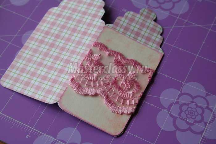 Открытка для новорожденной своими руками