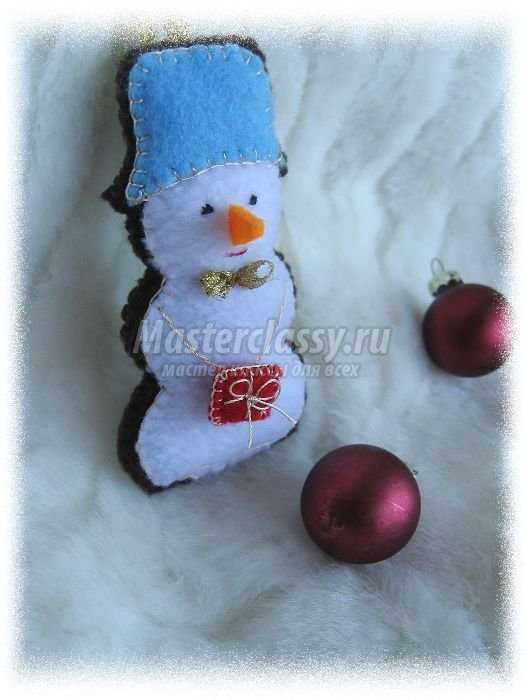 Снеговик из снега своими руками фото