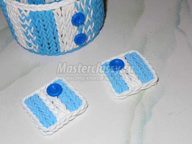Набор украшений из полимерной глины