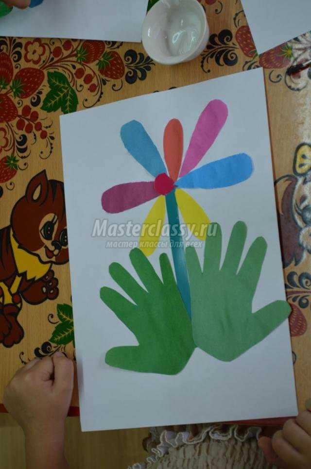 Мастер класс по бумаге в детском саду