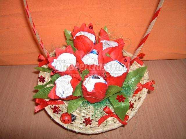 Корзинка для конфеты своими руками