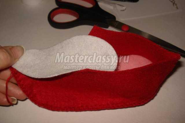Как сшить обувь для гнома своими руками