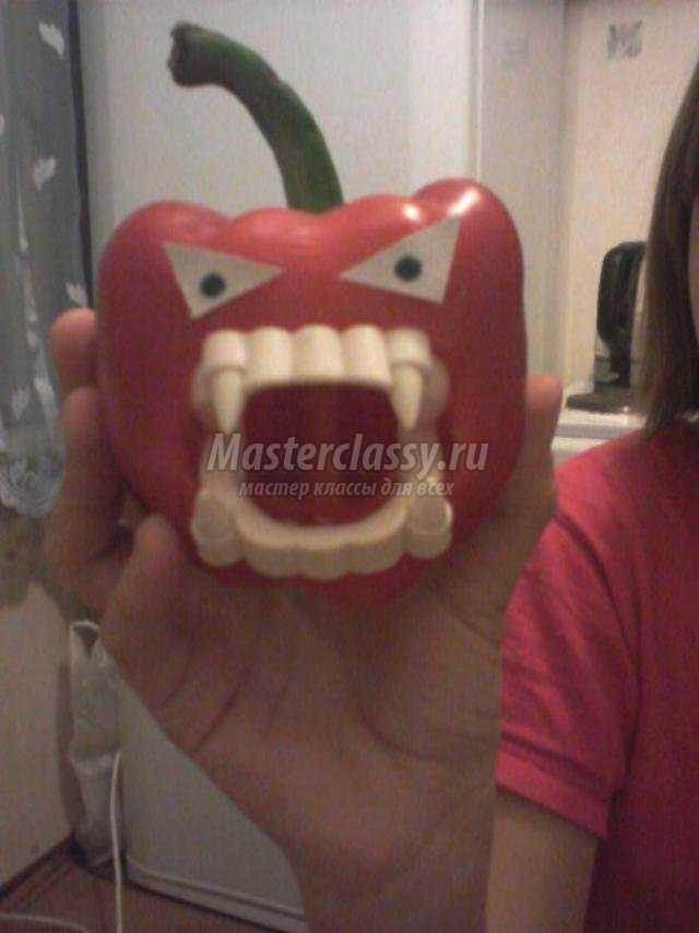 Зубы вампира своими руками из бумаги