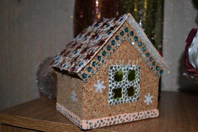 Дом из макарон своими руками фото