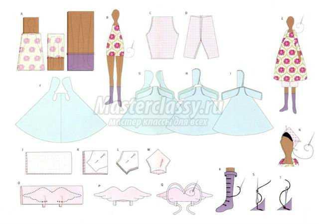 Платья для кукол - Своими