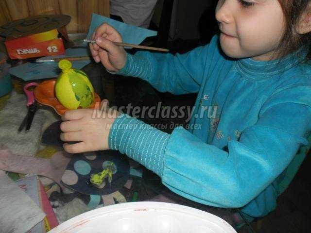 поделки для детей подготовительной группы детского сада. Тыквы из воздушных шариков