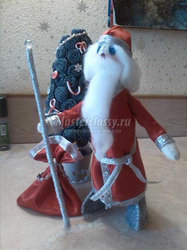 Дед мороз своими руками с пошаговым фото