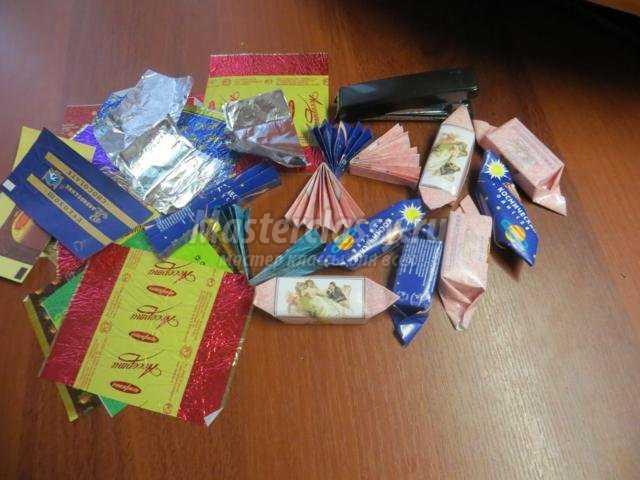 Обертка конфеты своими руками