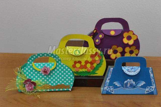Подарки для мамы своими руками из картона и бумаги
