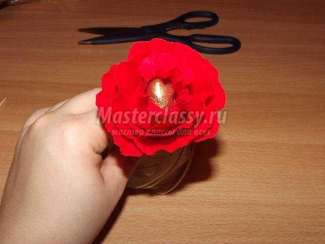 Роза своими руками мастер класс фото