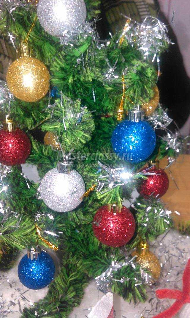 Елочные подарки на новый год своими руками