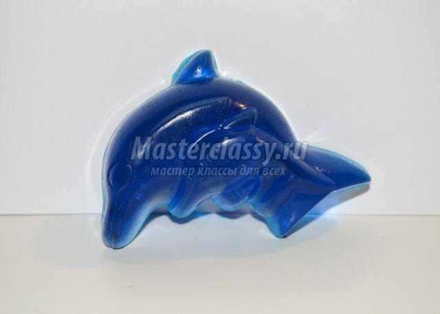 мыло для детей своими руками. Дельфин