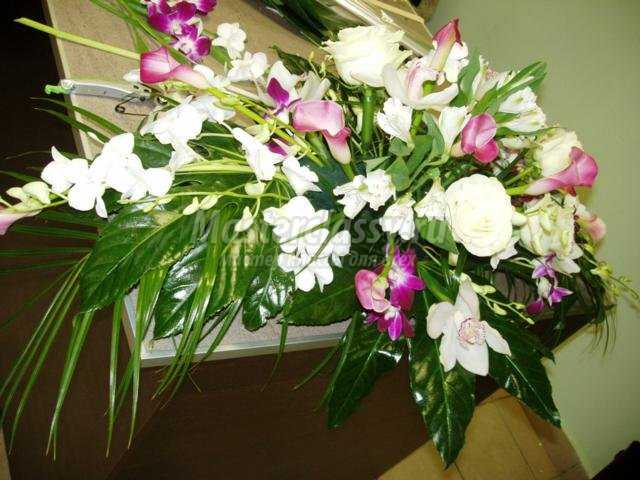 флористика. Букет из цветов