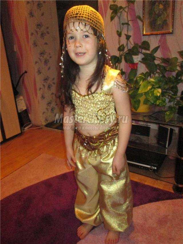 восточный костюм для девочки 6