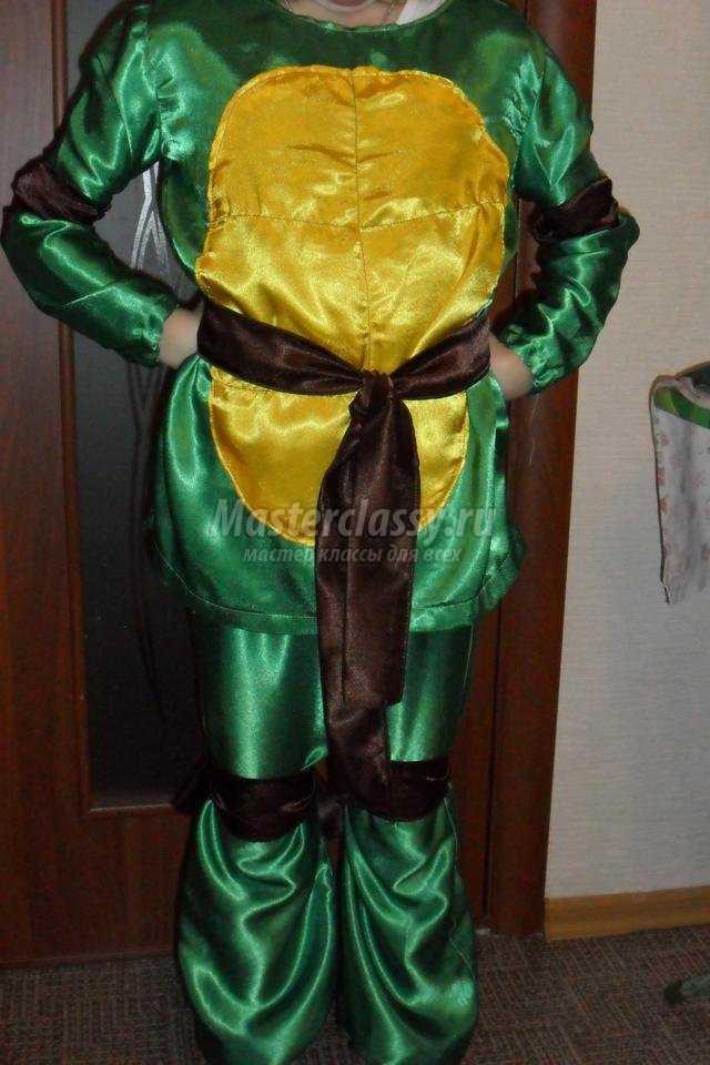 костюм черепашки-ниндзя