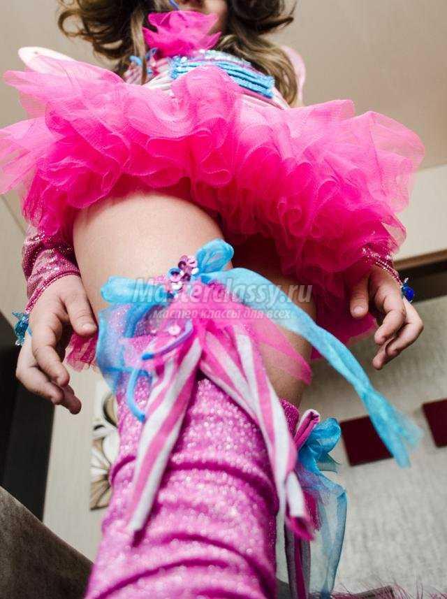 Костюм Winx для девочки. Мастер-класс с пошаговыми фото. Обсуждение на LiveInternet - Российский Сервис Онлайн-Дневников