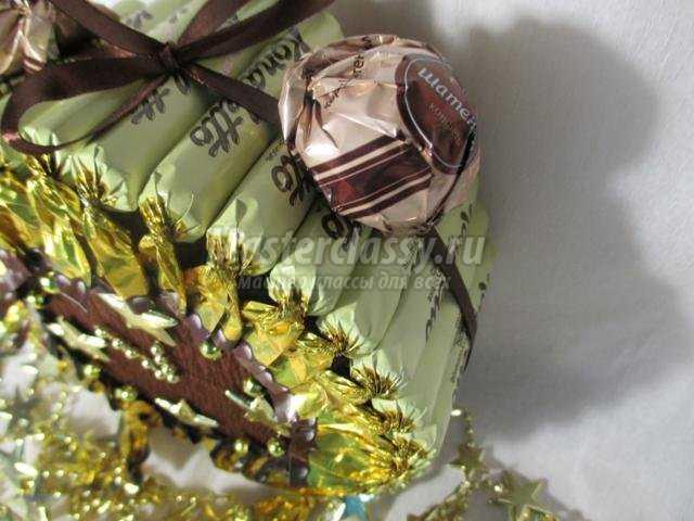Изделия с конфет своими руками
