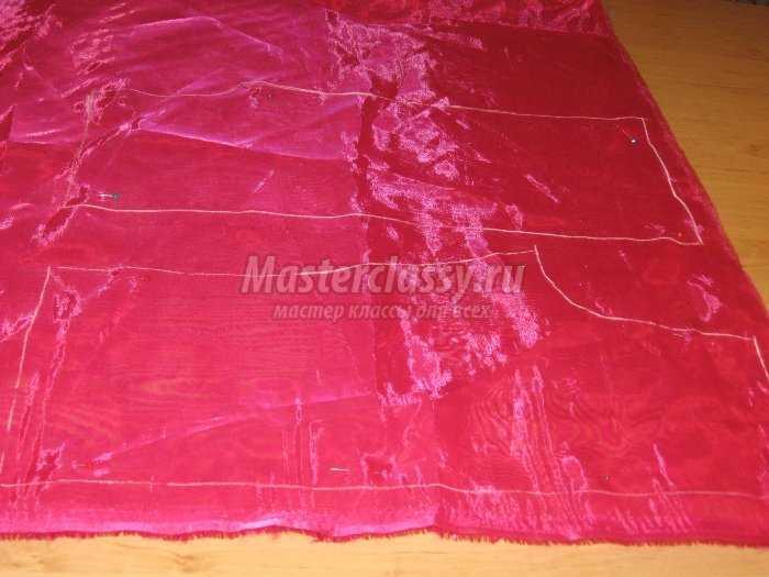 Как сшить шторы из плотной ткани