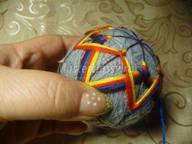 темари. Японские вышитые шары своими руками
