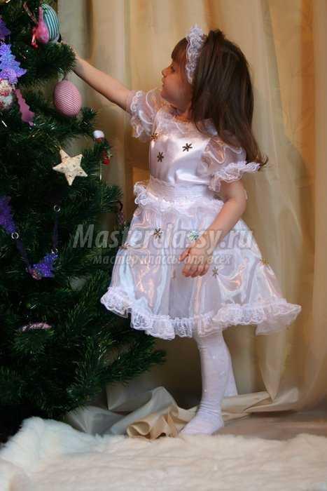 Новогодний костюм Снежинка своими руками. Часть 2. Мастер ... - photo#9