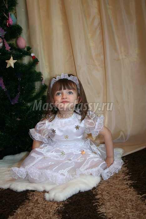 Новогодний костюм Снежинка своими руками. Часть 2. Мастер ... - photo#17