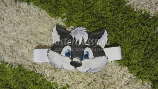 детский костюм волка своими