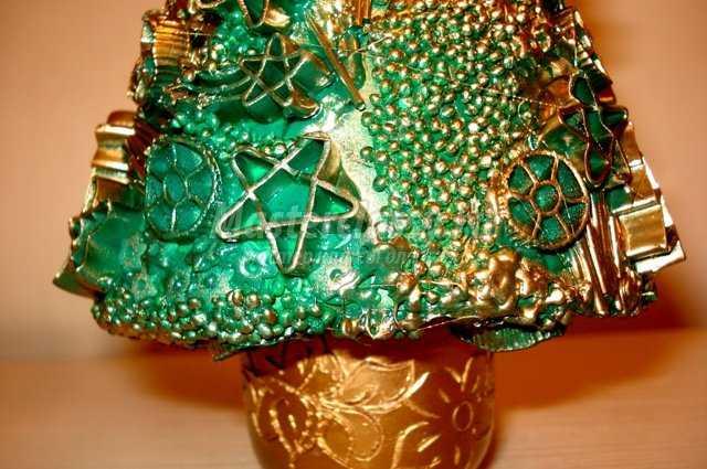 Елка новогодние своими руками из макарон