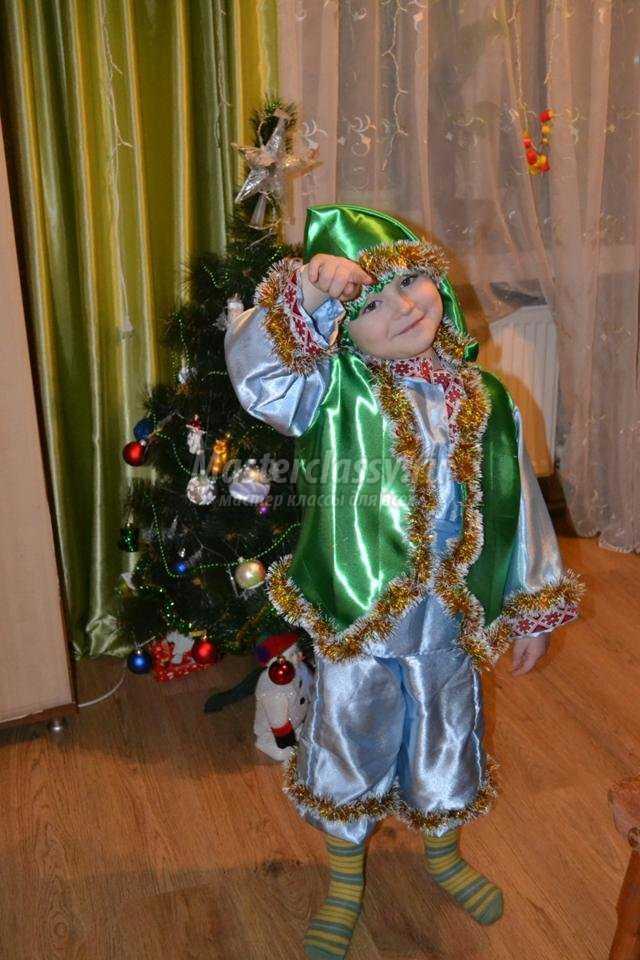 новогодний костюм Гнома своими руками