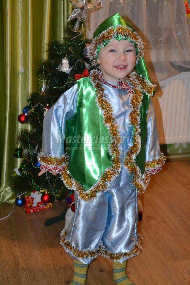 Новогодний костюм Гнома своими руками. Мастер-класс с ... - photo#1