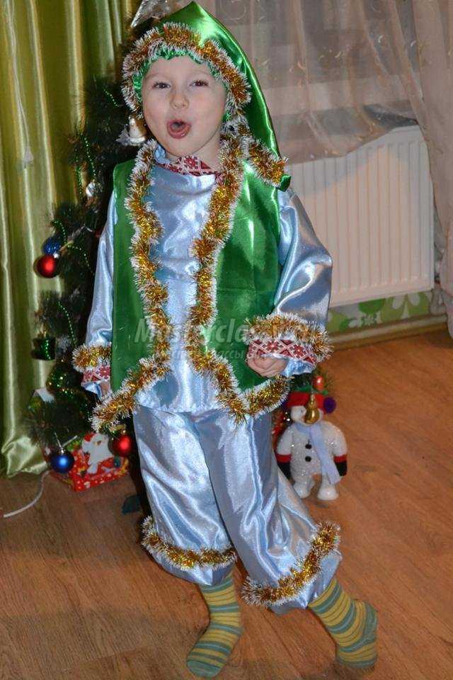Новогодний костюм Гнома своими руками. Мастер-класс с ... - photo#4