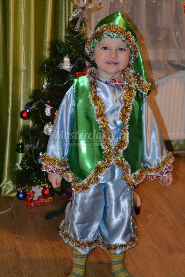 Новогодний костюм Гнома своими руками. Мастер-класс с ... - photo#3