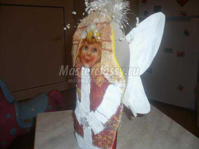 Конкурс рождественский ангел своими руками