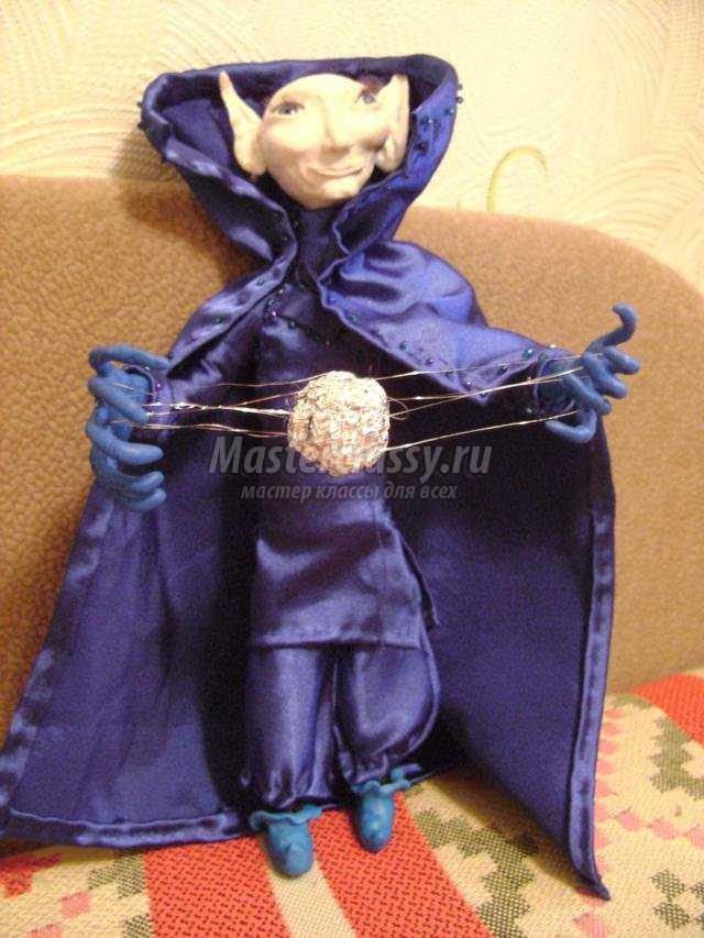 Кукла из полимерной глины мастер класс с пошаговым фото