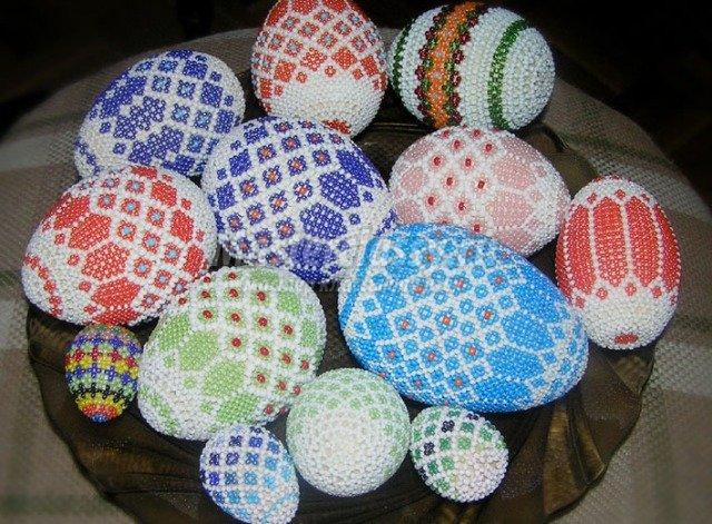 Декорированные яйца - это