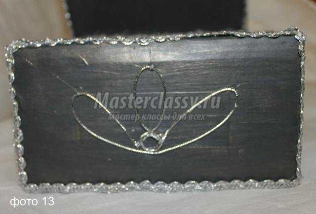 бабушкин сундук из коробки своими руками свит-дизайн