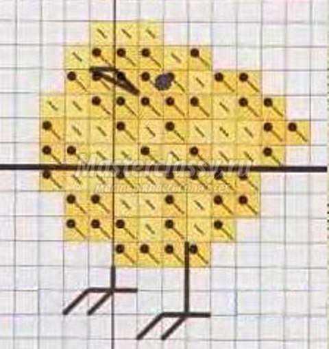 Схема Пасха. Учимся вышивать