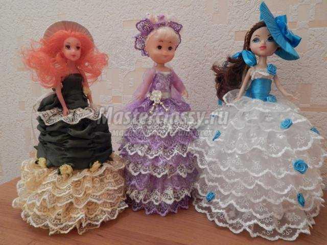 Шкатулки своими руками фото из куклы