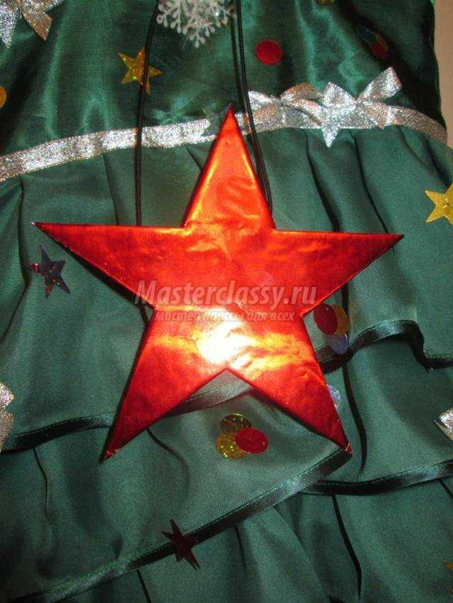 Новогодний костюм Елочка своими руками. Мастер-класс с ... - photo#34