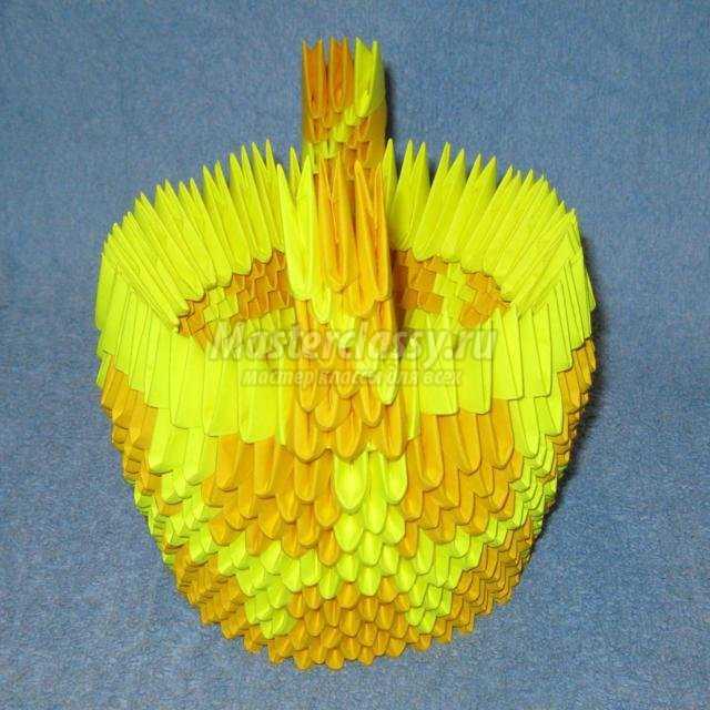 99Мастер класс корзины модульное оригами